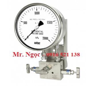 Đồng hồ chênh áp dạng màng P660 series (P661, P662)