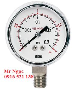 Đồng hồ áp suất Wise Model P113