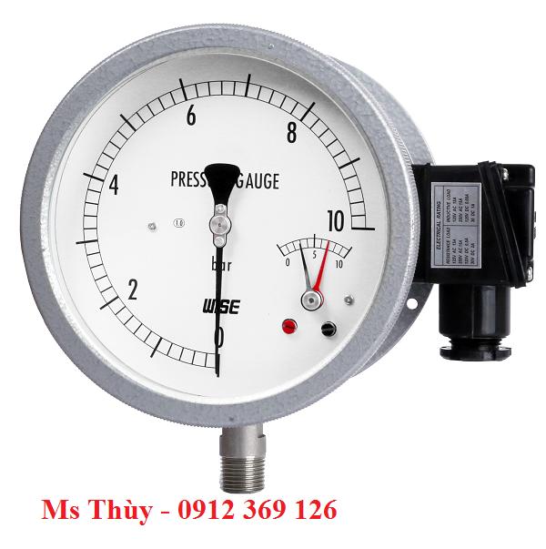 Đồng hồ tiếp điểm điện wise Model P535, P536