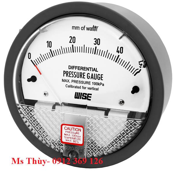 Đồng hồ chênh áp Wise Model P880