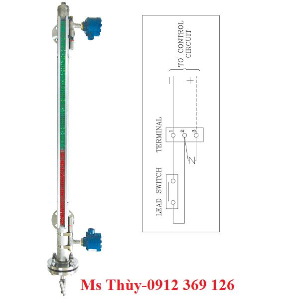 Thiết bị đo mức chất lỏng L300 có tiếp điểm, chuyển đổi tín hiệu
