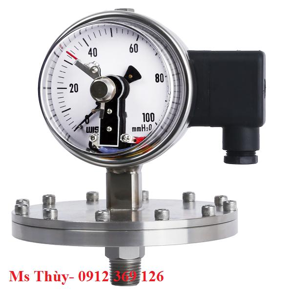 Đồng hồ tiếp điểm điện dạng màng P570