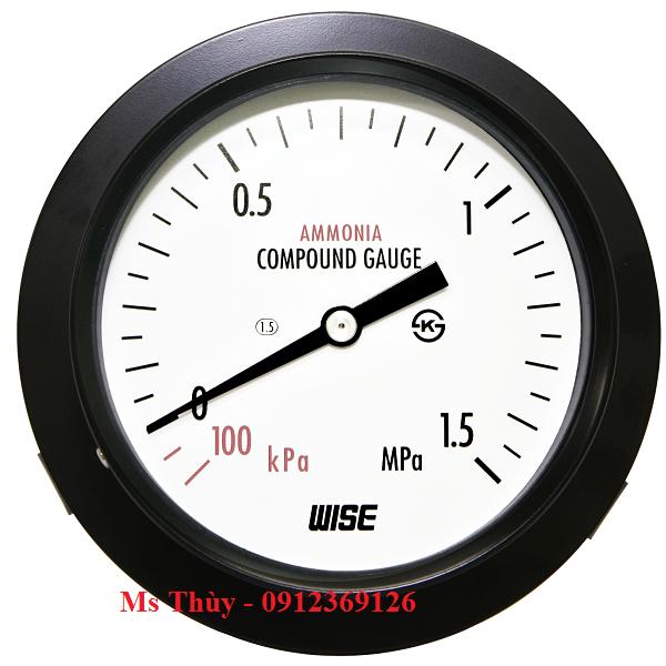 Đồng hồ áp suất Wise Model P111