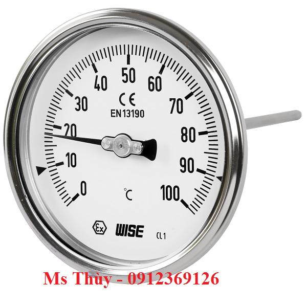 Đồng hồ nhiệt độ Wise Model T112