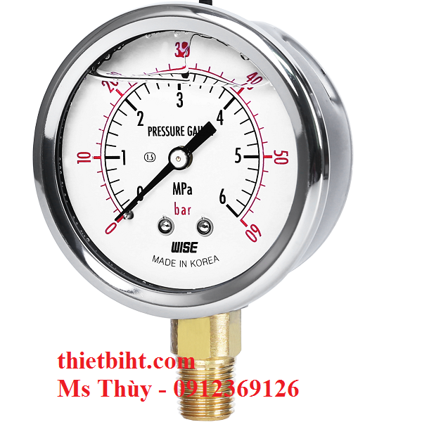 Đòng hồ áp suất Wise Model P254