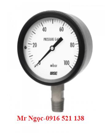 Đồng hồ áp suất thấp Wise Model P430
