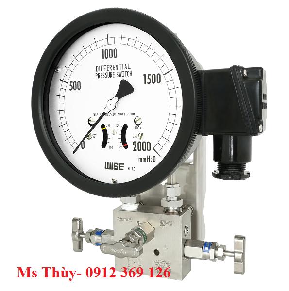 Đồng hồ chênh áp wise P640 series (P641, P642)