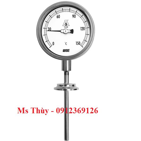 Đồng hồ nhiệt độ dạng Clamp Wise T123