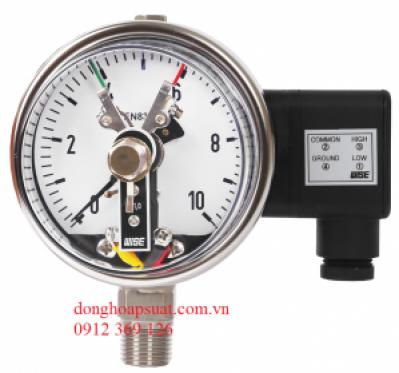 Đồng hồ áp suất wise có tiếp điểm điện